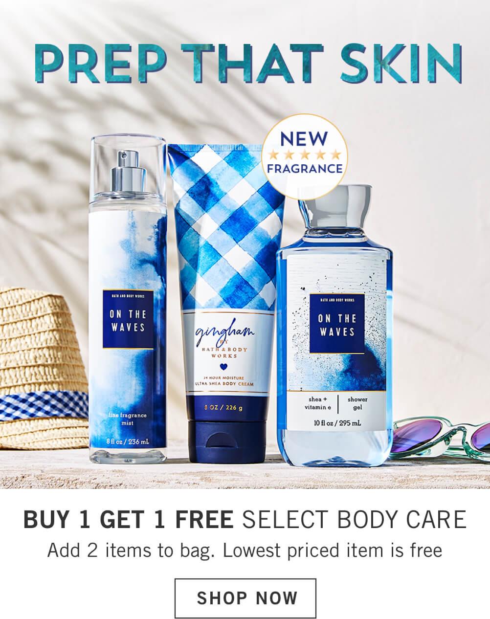 Bath & Body Works UAE | Shop Bath And Body Products Online